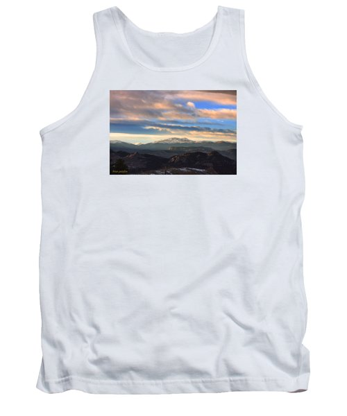 The Unmatched Beauty Of The Colorado Rockies Tank Top