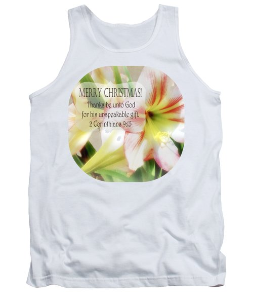 Unspeakable Gift Tank Top