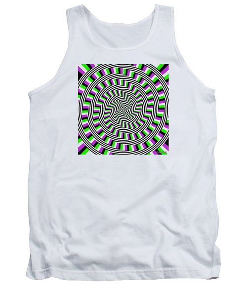 Self-moving Unspiral Tank Top