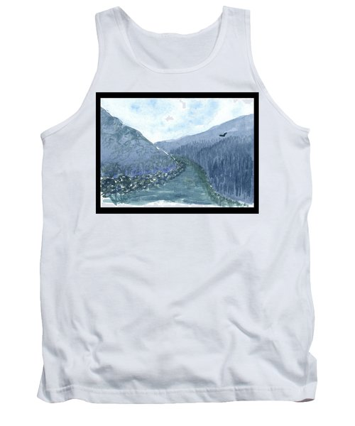 Up The River Tank Top