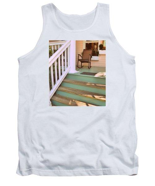 Up The Steps Tank Top
