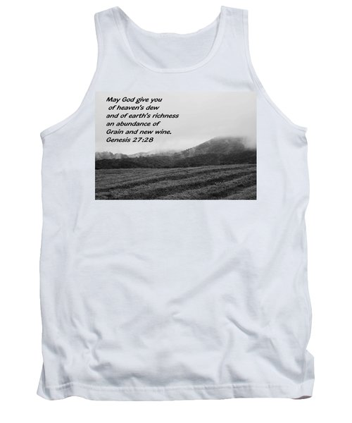 Uplifting Fog Tank Top by Eric Liller
