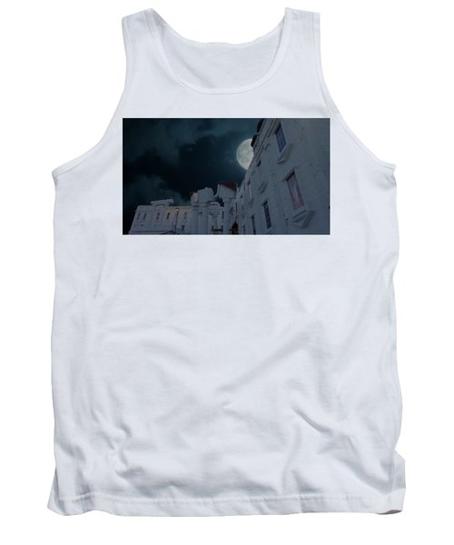 Upside Down White House At Night Tank Top