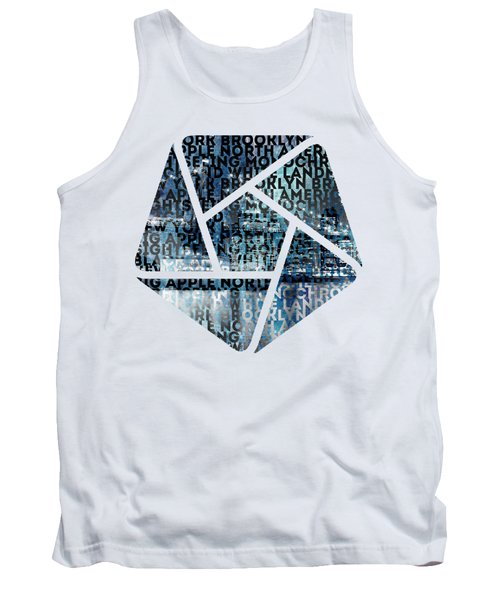 Urban-art Nyc Brooklyn Bridge I Tank Top