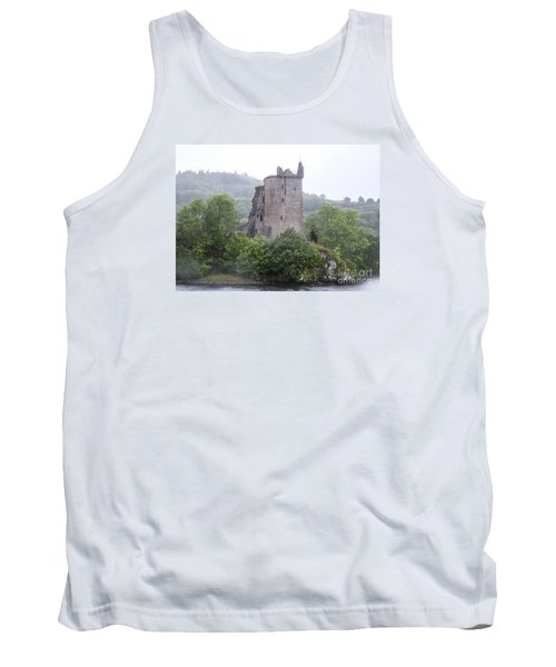 Urquhart Castle - Grant Tower Tank Top by Amy Fearn