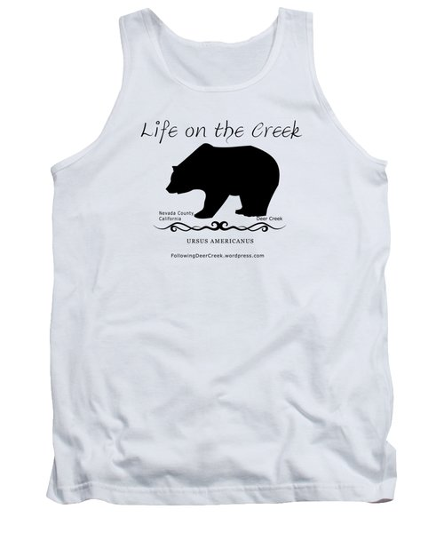 Ursus Americanus - Black Text Tank Top
