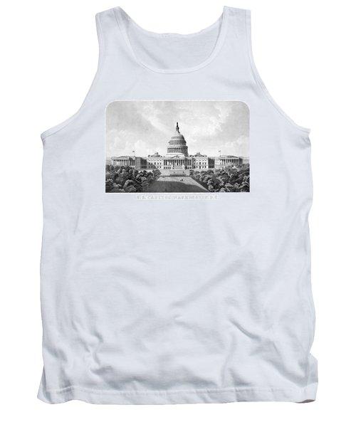 Us Capitol Building - Washington Dc Tank Top