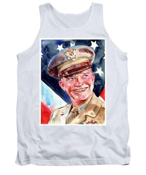 Us General Dwight D. Eisenhower Tank Top