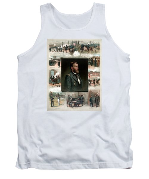 Us Grant's Career In Pictures Tank Top
