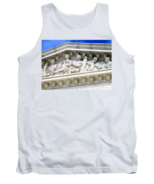 Us Supreme Court 4 Tank Top by Randall Weidner