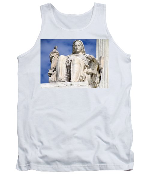 Us Supreme Court 7 Tank Top