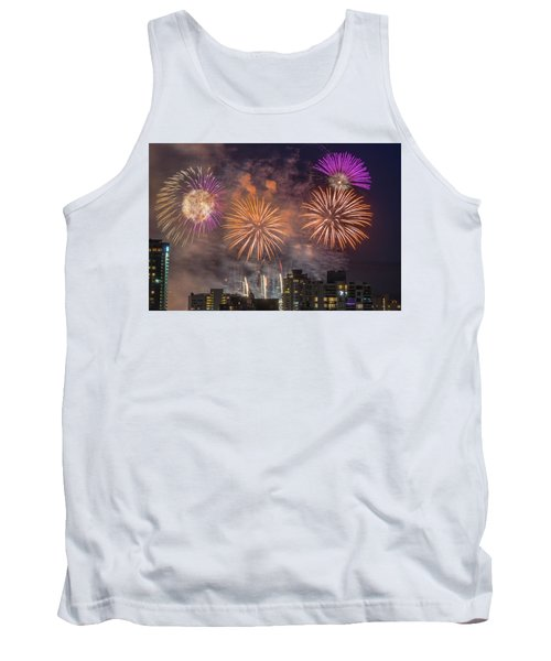 Usa 1 Tank Top by Ross G Strachan