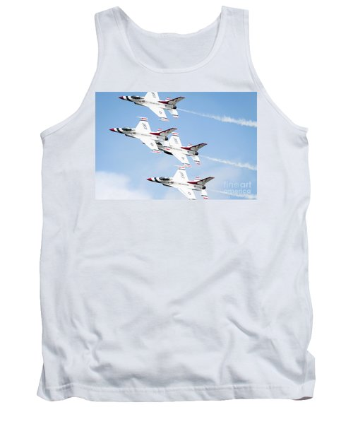 Usaf Thunderbirds Tank Top by Lawrence Burry