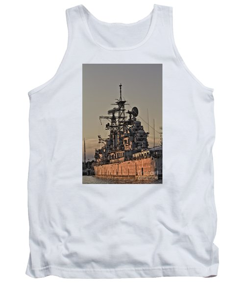 Tank Top featuring the photograph U.s.s Little Rock by Jim Lepard