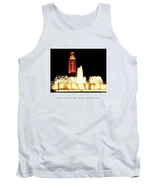 Ut Tower Poster Tank Top