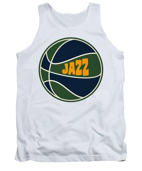 Utah Jazz Retro Shirt Tank Top by Joe Hamilton