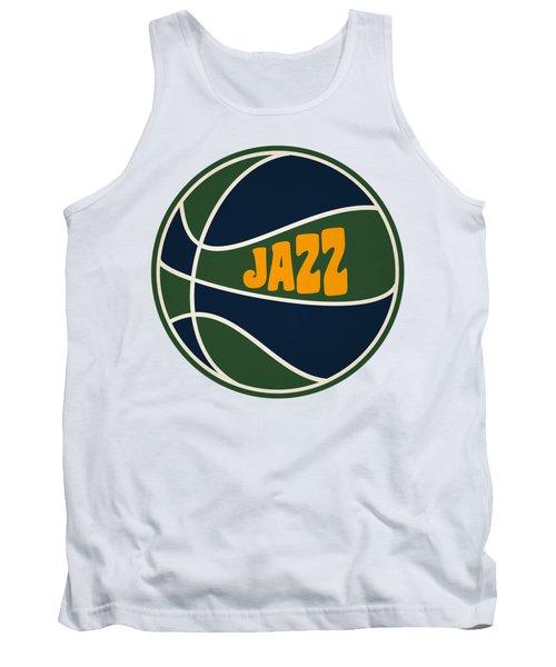 Utah Jazz Retro Shirt Tank Top
