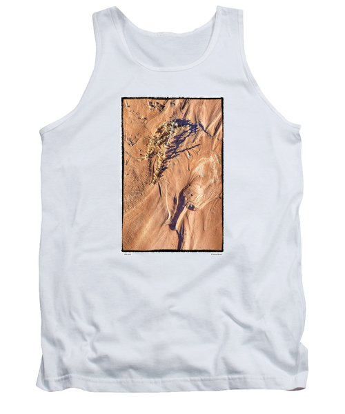 Tank Top featuring the photograph Utah Sand by R Thomas Berner