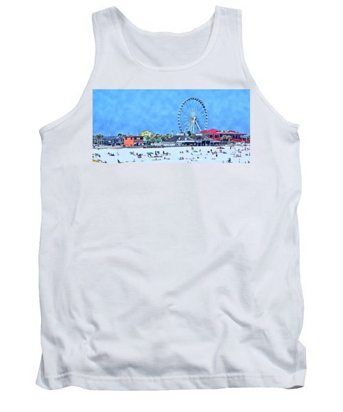 Vacation Tank Top by Kathy Bassett