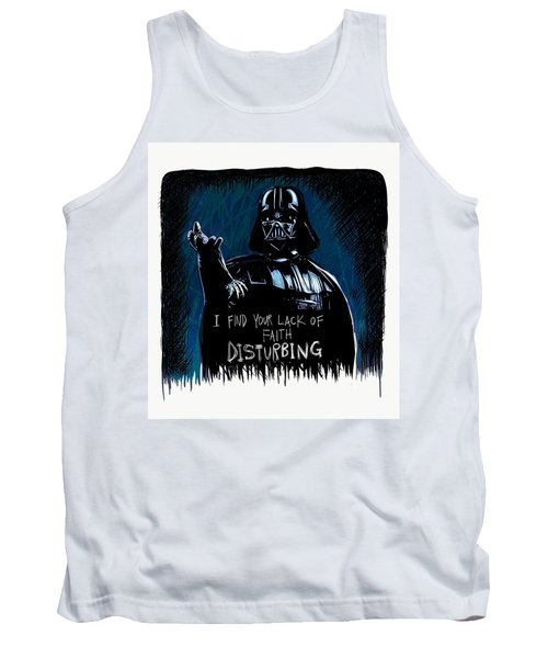 Tank Top featuring the digital art Vader by Antonio Romero