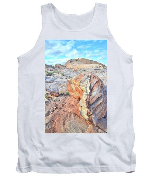 Valley Of Fire Alien Boulder Tank Top