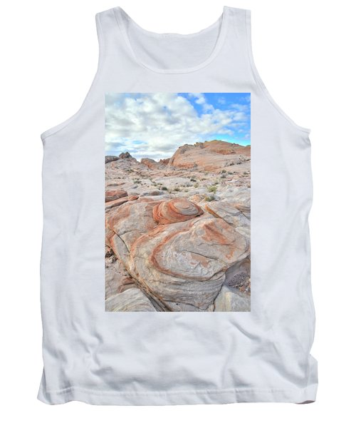 Valley Of Fire Beehives Tank Top by Ray Mathis