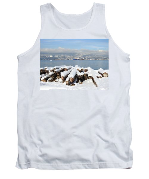 Vancouver Winter Tank Top by Brian Chase