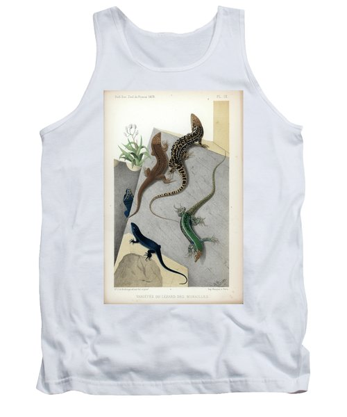 Varieties Of Wall Lizard Tank Top