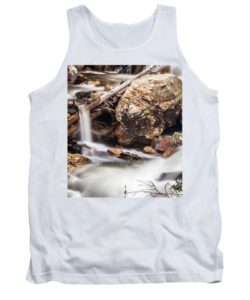 Velvet Falls - Rocky Mountain Stream Tank Top