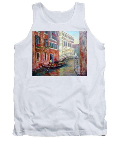 Venice Gondola Ride Tank Top