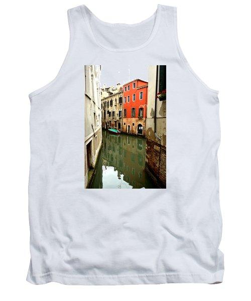 Venice Street Scene 3 Tank Top by Richard Ortolano