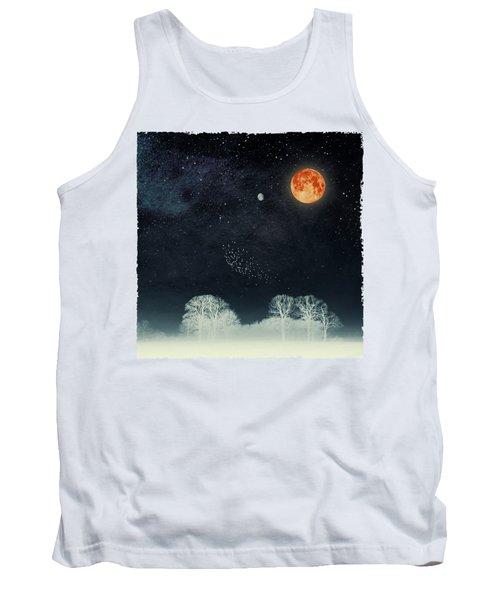 Venus And Moon Night Tank Top