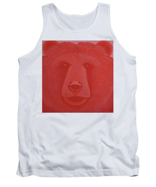 Vermillion Bear Tank Top