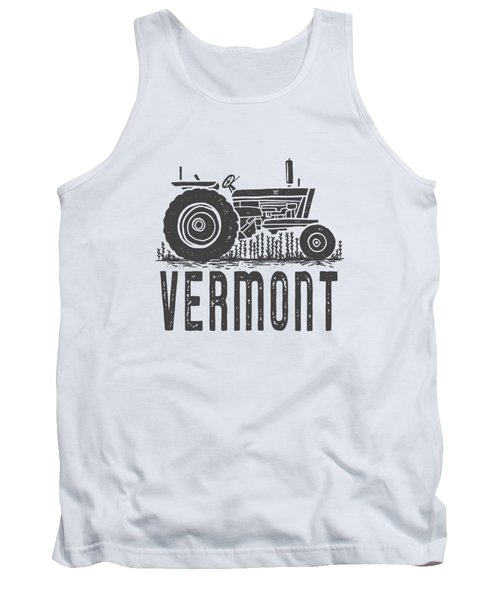 Vermont Vintage Tractor Tee Tank Top