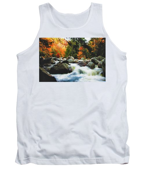 Vermonts Fall Color Rapids Tank Top