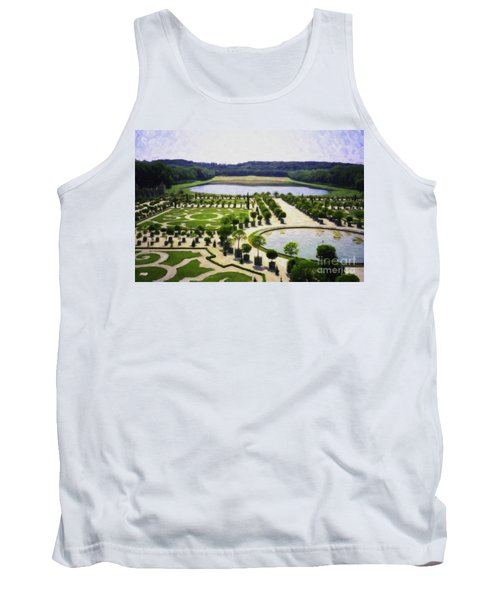 Versailles Digital Paint Tank Top