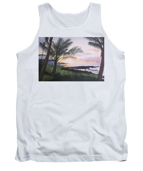 Tank Top featuring the painting Version 2 by Teresa Beyer