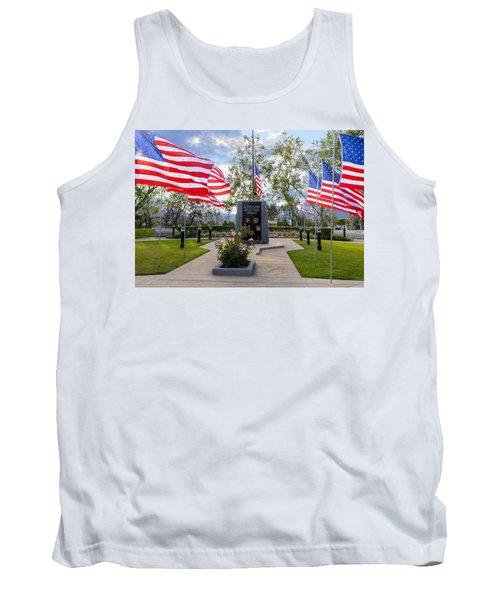 Veterans Monument Camarillo California Usa Tank Top