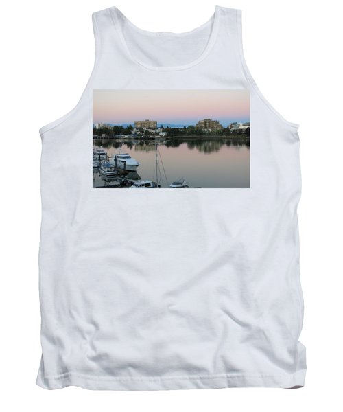 Victoria Harbor Dawn Tank Top