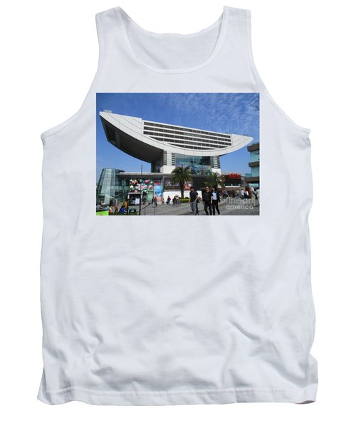 Tank Top featuring the photograph Victoria Peak 3 by Randall Weidner