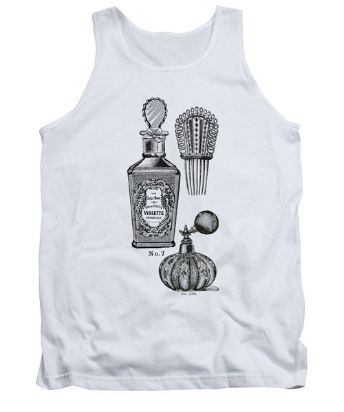 Victorian Perfume Phone Case Tank Top