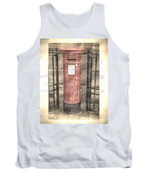 Victorian Red Post Box Tank Top