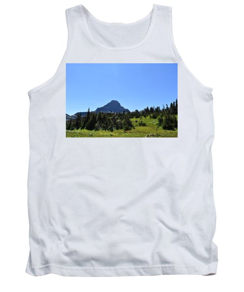 Tank Top featuring the photograph View From Logan's Pass by Dacia Doroff