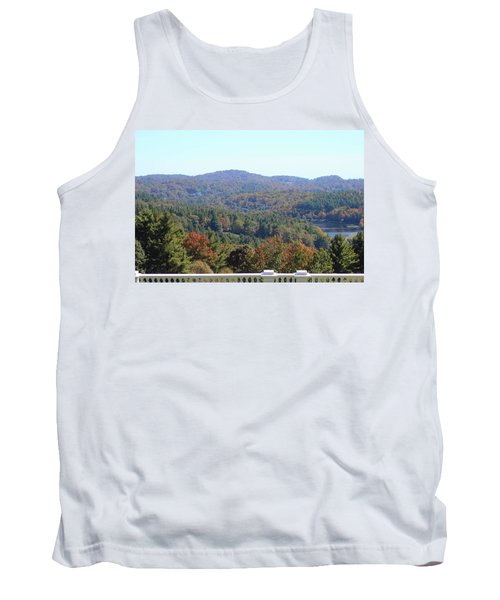 View From Moses Cone 2014c Tank Top