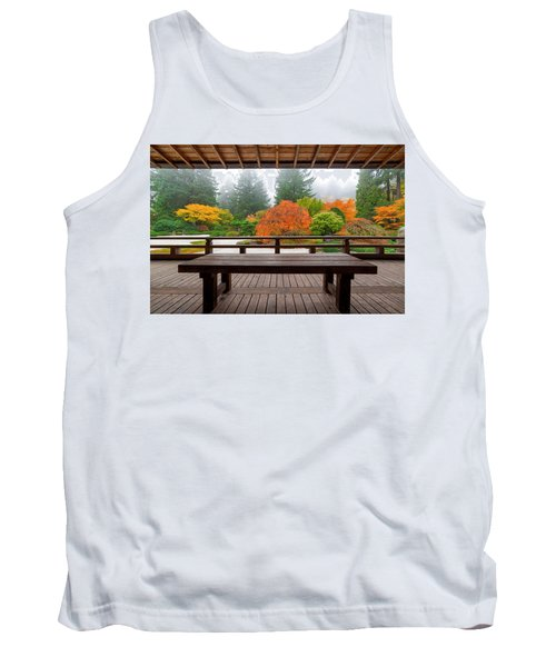 View From The Pavilion Tank Top
