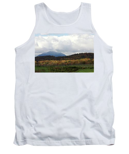 View Of Sharp Top In Blue Ridge Mountains Tank Top