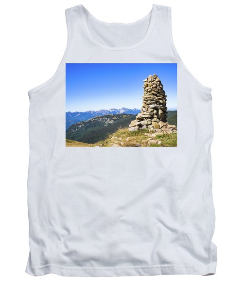 View Of The Apuan Alps Tank Top