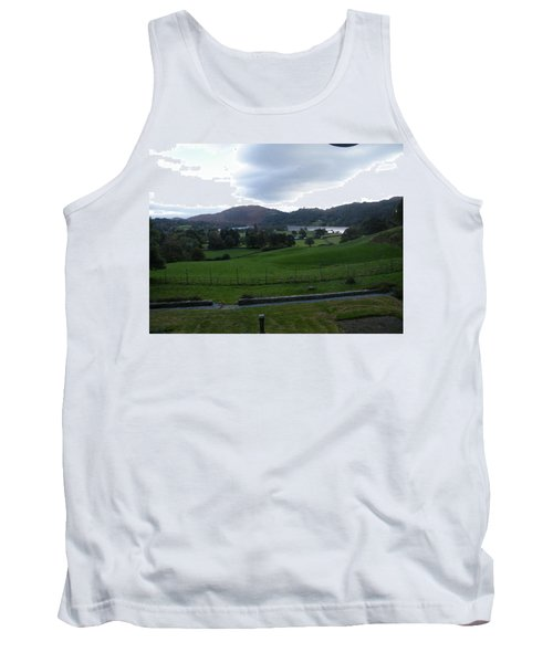 View Of The Lakes Tank Top