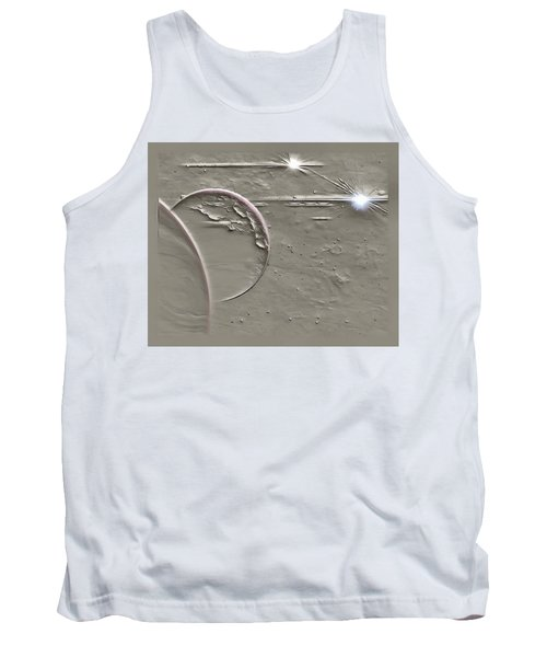 View To A Gray Universe Tank Top