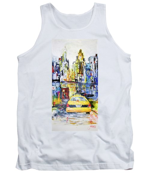 View To Manhattan Tank Top